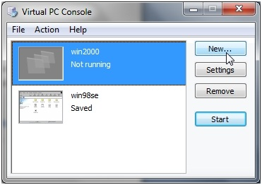 virtual pc 2007 for windows 8